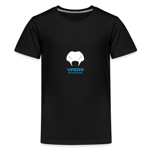 Viperr It's a bite hot - Teenage Premium T-Shirt