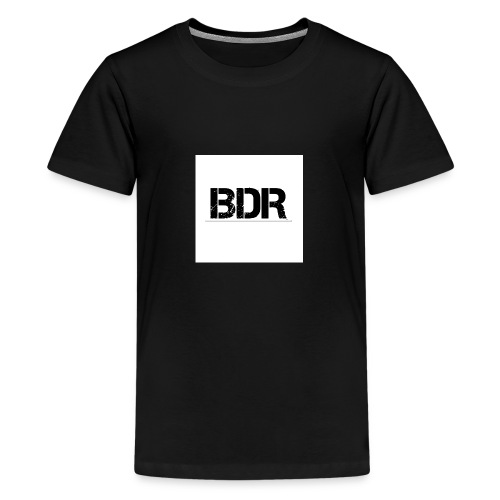 3000x3000BDR jpg - Teenager Premium T-shirt