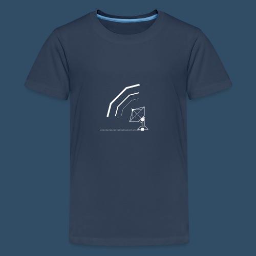 Calling All Broadcasts Satellite Dish - Teenage Premium T-Shirt