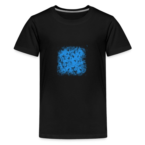 blaue Wolke - Teenager Premium T-Shirt