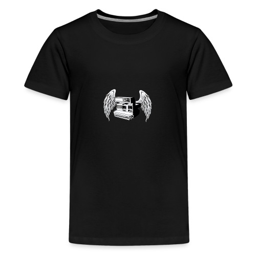 retro photo camera - Camiseta premium adolescente