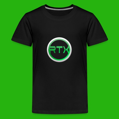 Logo SnapBack - Teenage Premium T-Shirt