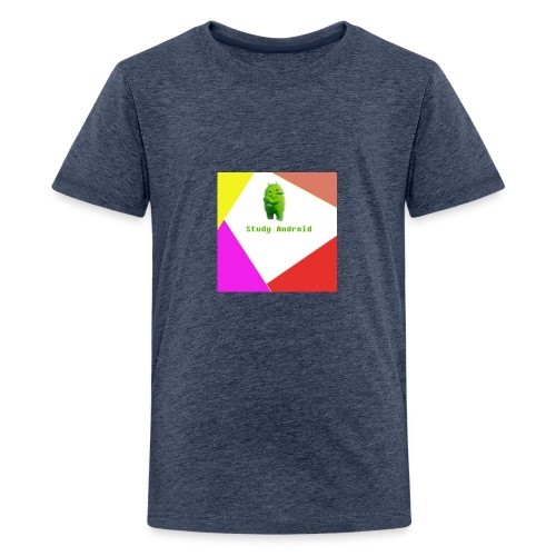 Study Android - Camiseta premium adolescente
