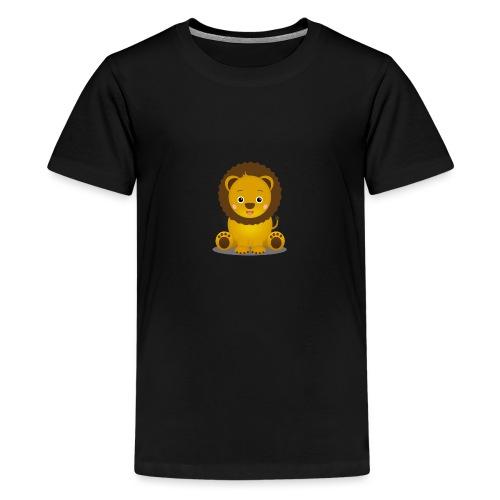 Baby Löwe Leon - Teenager Premium T-Shirt