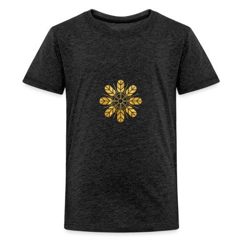 Inoue clan kamon in gold - Teenage Premium T-Shirt