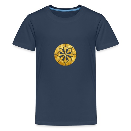 Sanja Matsuri Komagata mon gold - Teenage Premium T-Shirt