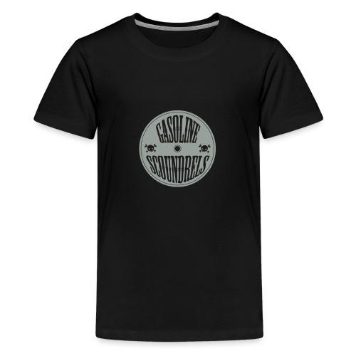 logo wit - Teenage Premium T-Shirt