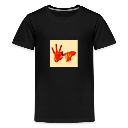 Fuck you - T-shirt Premium Ado