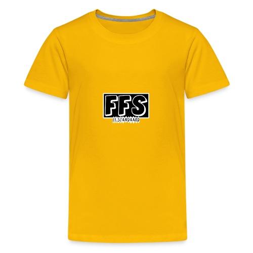 ff Standaard Shirt, Met FFS logo! - Teenage Premium T-Shirt