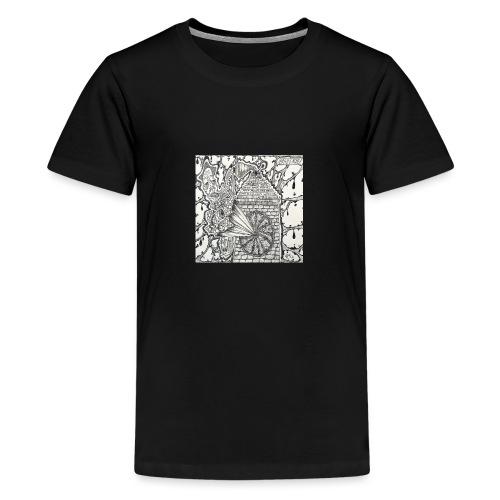 Brain Ache - Teenage Premium T-Shirt
