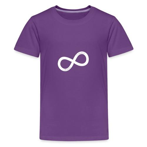 white JS.png - Premium-T-shirt tonåring