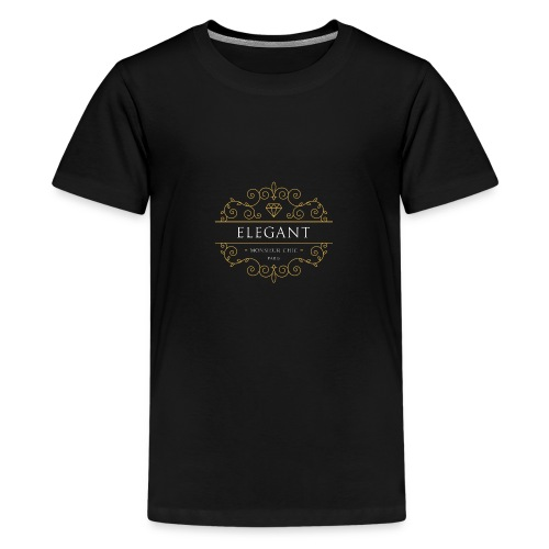 Sweat à capuche ELEGANT - T-shirt Premium Ado
