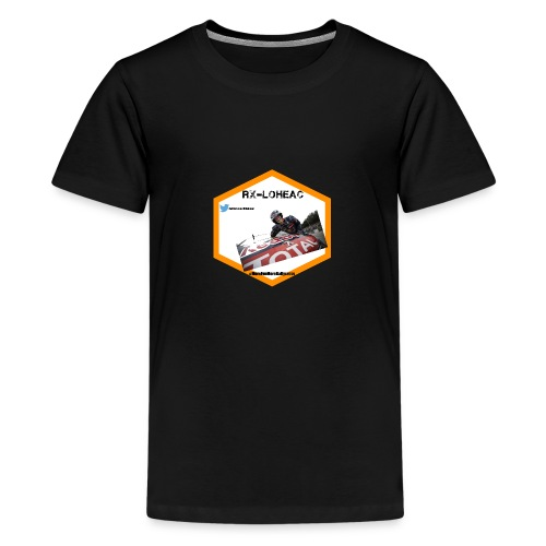 rxloheac new logo grand format png - T-shirt Premium Ado