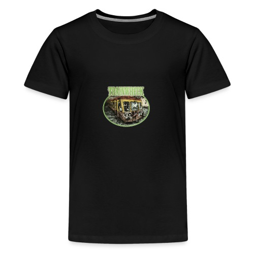 trainwreck - cannabis sorte - Teenage Premium T-Shirt