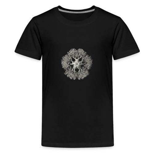 psychedelic art stitch - T-shirt Premium Ado