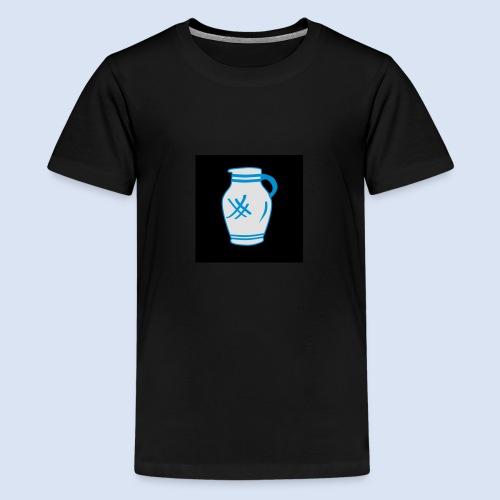 Mein Frankfurt Bembeltown - Teenager Premium T-Shirt