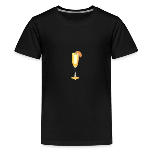 bellini cocktail - Teenage Premium T-Shirt