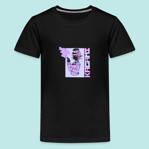 Femme militaire elfe fumer - T-shirt Premium Ado
