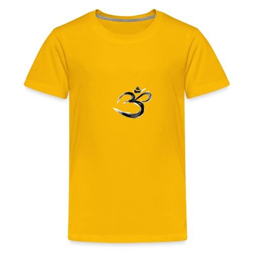 Black OM - Premium-T-shirt tonåring