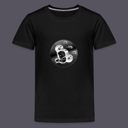 schwarze Schmuck CD - Teenager Premium T-Shirt