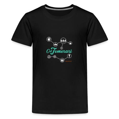 samarreta CT prova 6b png - Camiseta premium adolescente