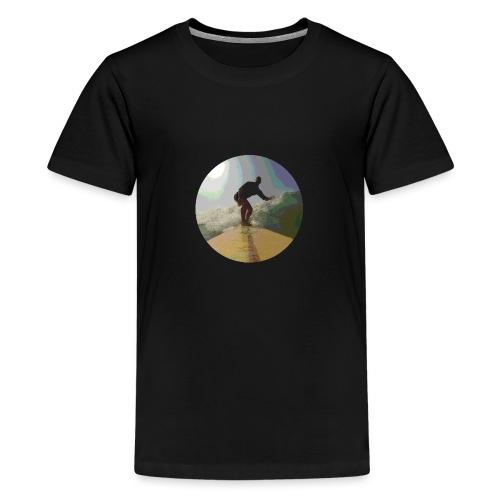 Isle_of_Surfing - Teenage Premium T-Shirt