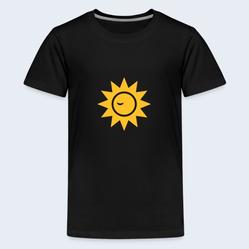 Winky Sun - Teenager Premium T-shirt