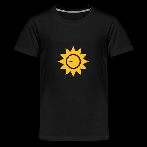 Winky Sun - Teenager Premium T-shirt