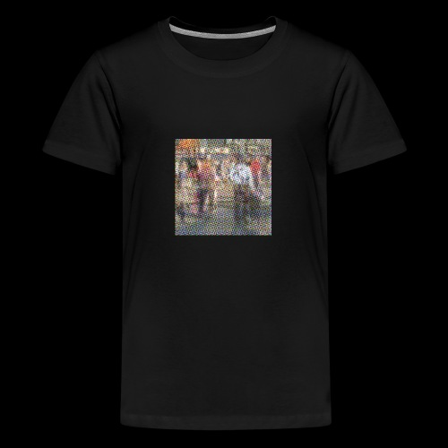 NewYork_GroundZero.jpg - Teenager Premium T-Shirt