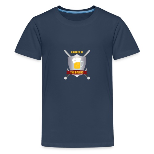 Knights of The Bajers - Teenager premium T-shirt
