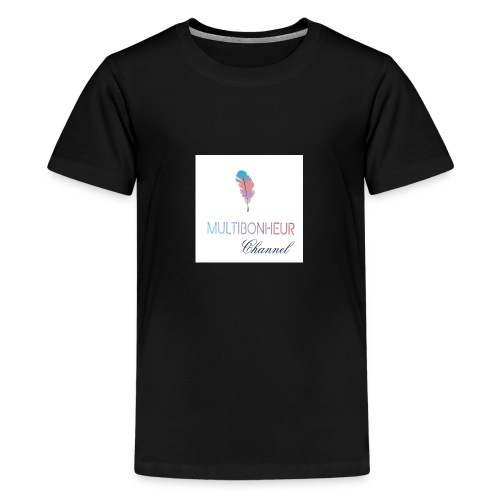 Multibonheur CHANNEL - T-shirt Premium Ado