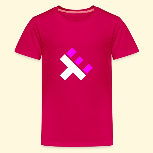 xEnO Logo - xEnO Eclipse - Teenage Premium T-Shirt