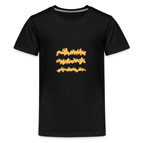 Orange_Sample.png - Teenager Premium T-Shirt