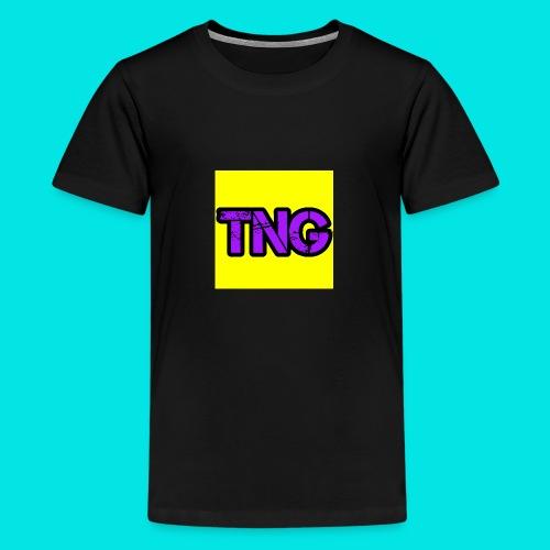 New TNG LOGO - Teenage Premium T-Shirt