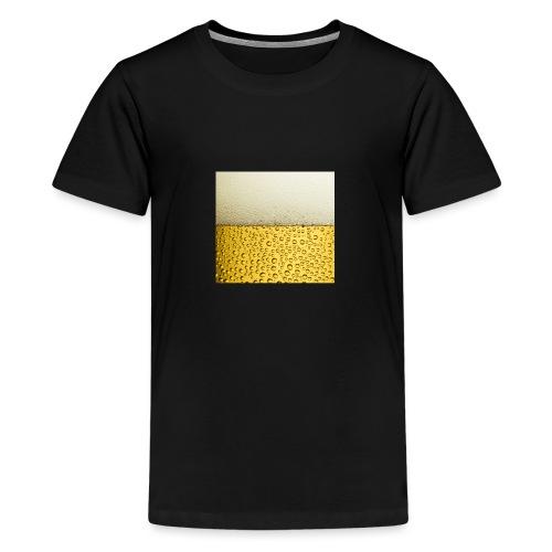 Logo beer bier - Teenager Premium T-shirt