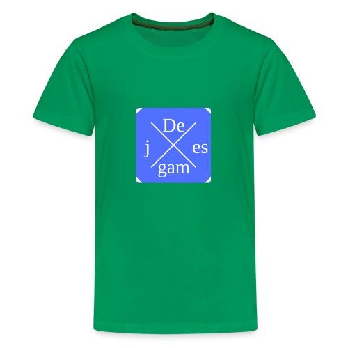 de j games kleren - Teenager Premium T-shirt