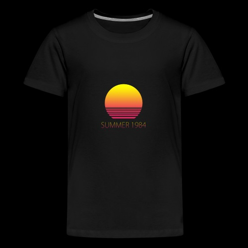 Summer 1984 - Vaporwave - T-shirt Premium Ado