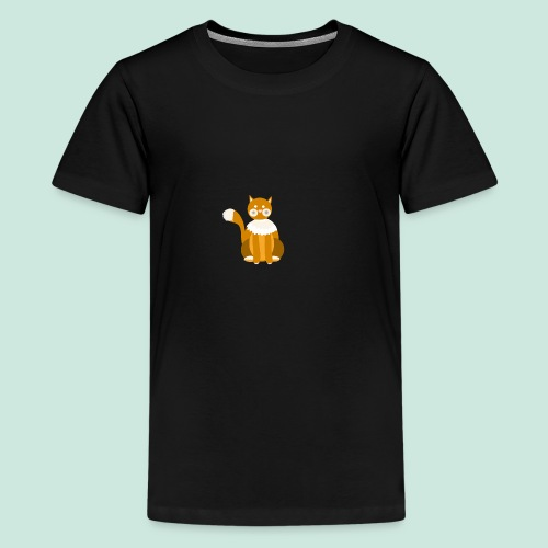 Kitty cat - Teenage Premium T-Shirt