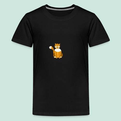 Kitty cat - Teenage Premium T-Shirt