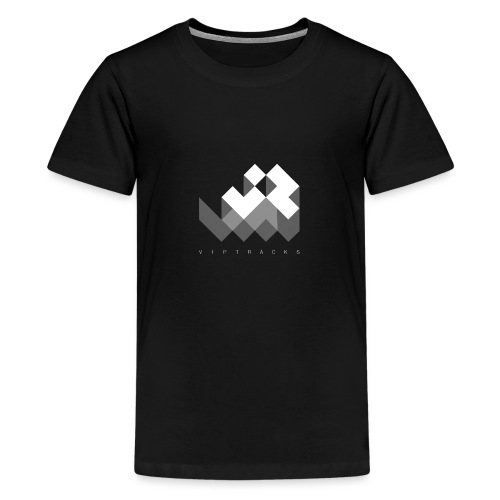 LOGO VIPTRACKS RELEASES - Teenager Premium T-shirt