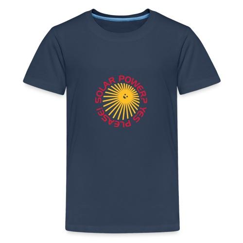 BD Solar Power - Teenager Premium T-Shirt
