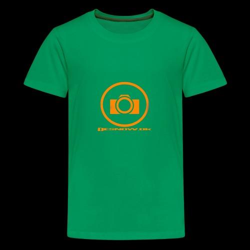 Orange 2 png - Teenager premium T-shirt