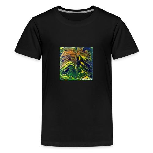 TIAN GREEN Mosaik DE029 - Lebensbaum - Teenager Premium T-Shirt