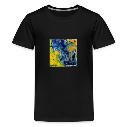 TIAN GREEN Mosaik DE031 - Geistesstrom - Teenager Premium T-Shirt
