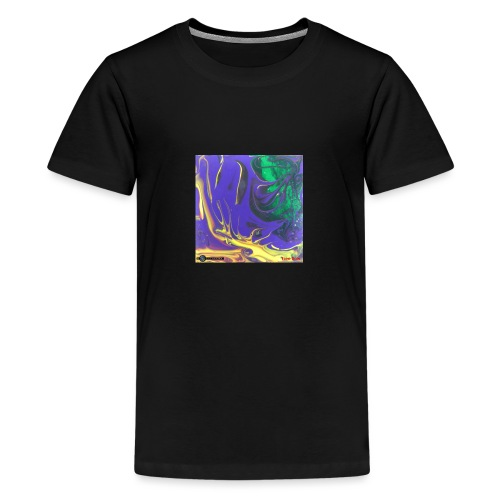 TIAN GREEN Mosaik DK010 - Free flow - Teenager Premium T-Shirt