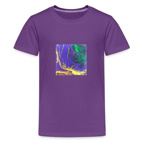 TIAN GREEN Mosaik DK010 - Free flow - Teenager Premium T-Shirt