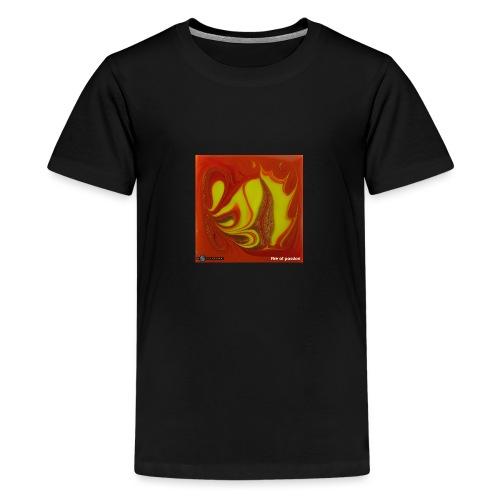 TIAN GREEN Mosaik DK011 - Fire of passion - Teenager Premium T-Shirt