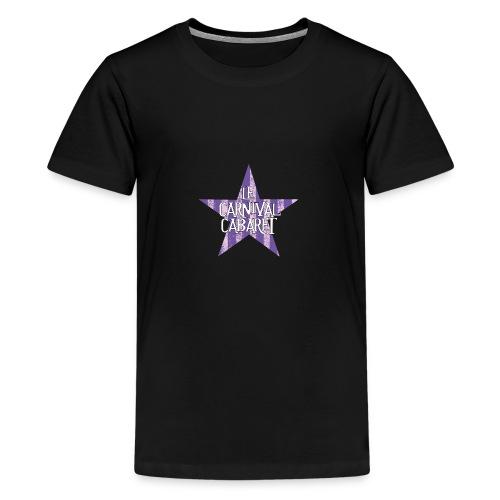 bonnet LCC noir etoie violette - Teenage Premium T-Shirt