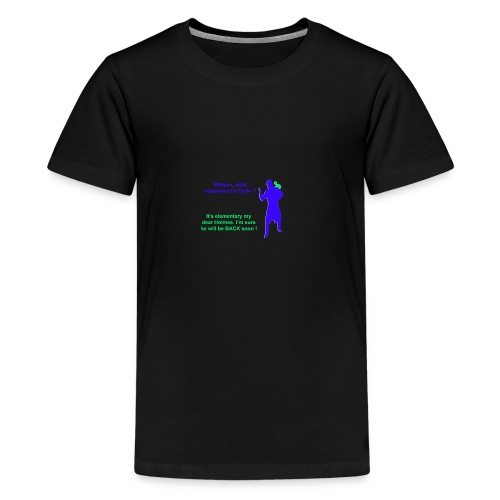 Clyde will be back - Teenage Premium T-Shirt
