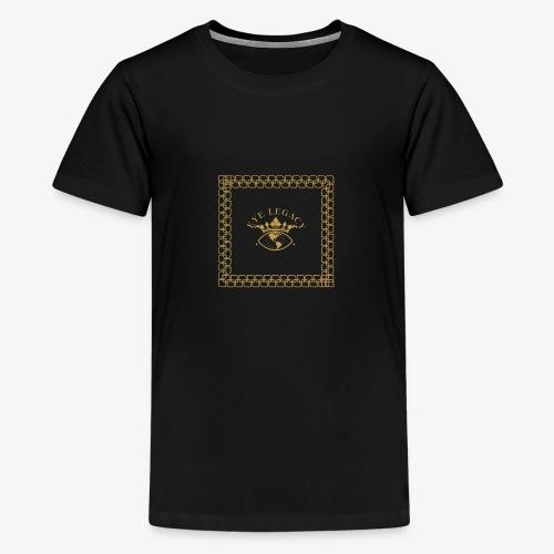 EYE LEGACY (Gold) - Teenage Premium T-Shirt